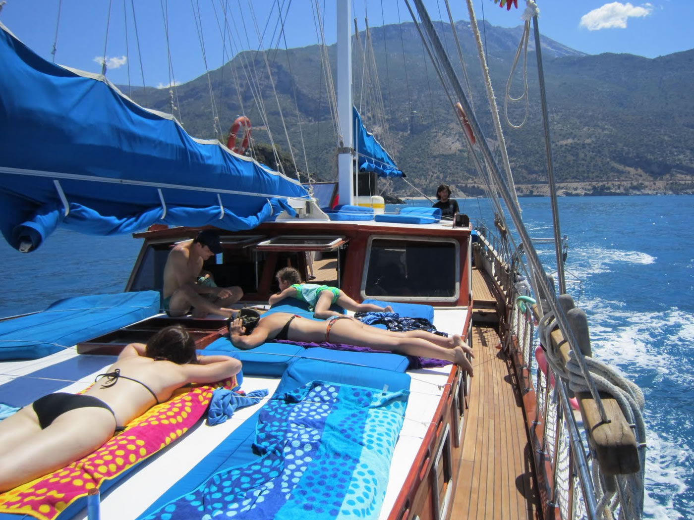 3 Day Kas to Olympos Blue Cruise Cabin Charter