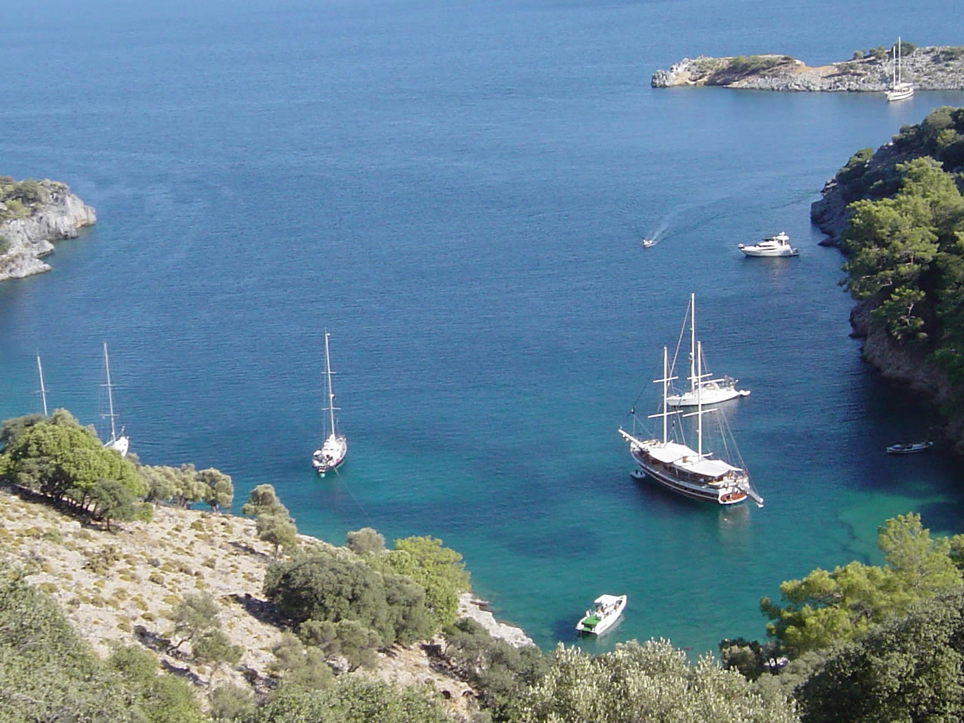 4 Day Fethiye To Marmaris Blue Cruise Cabin Charter