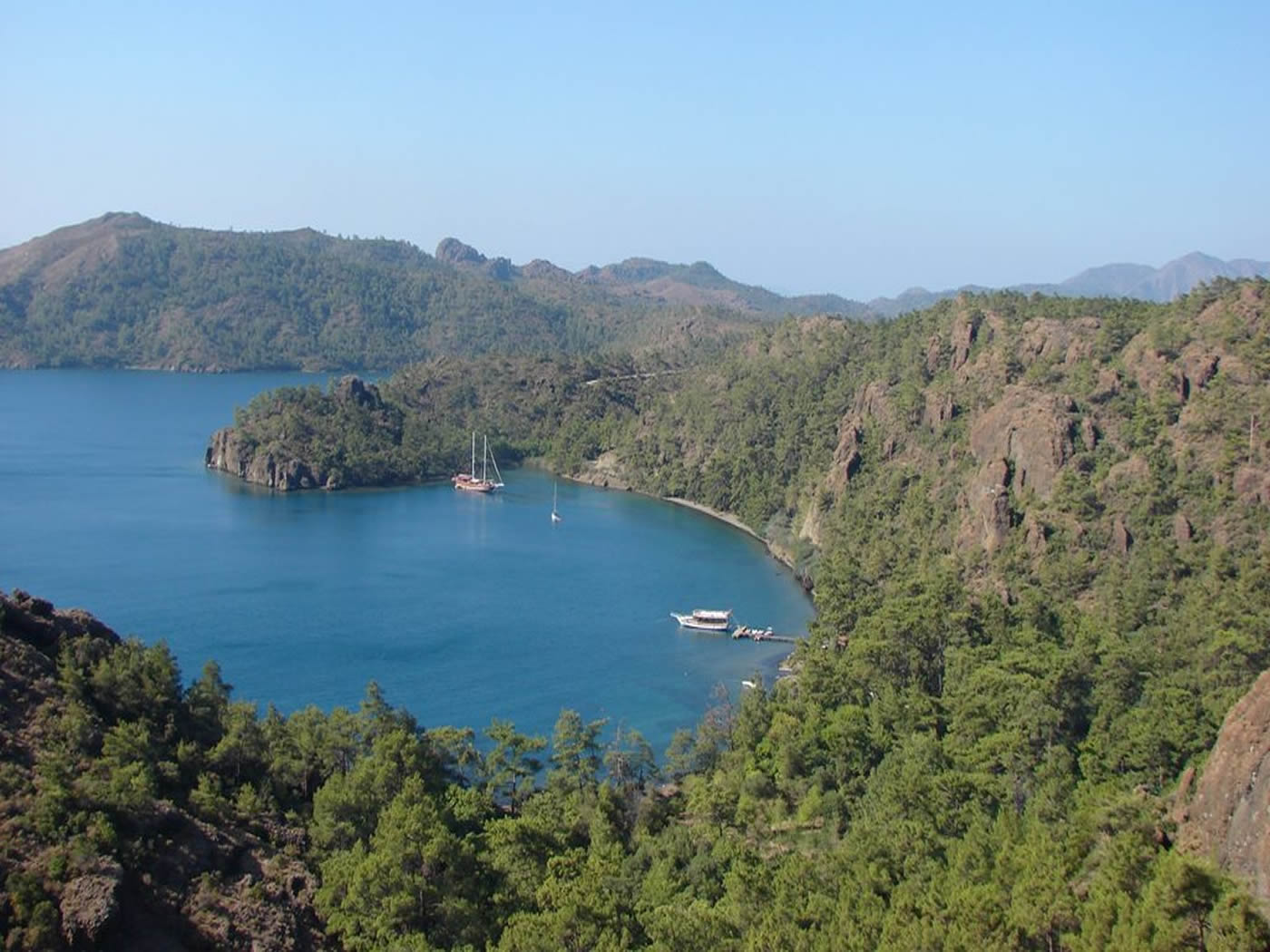 4 Day Fethiye To Marmaris Blue Cruise Cabin Charter 4