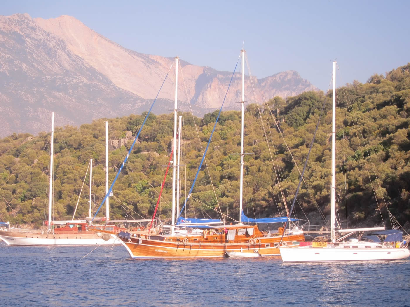 4 Day Fethiye To Marmaris Blue Cruise Cabin Charter 6