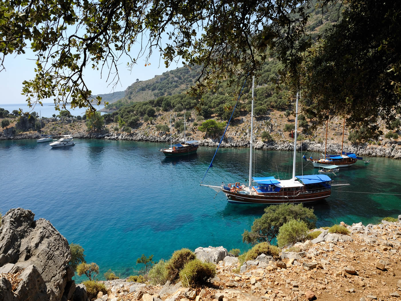4 Day Olympos to Fethiye Blue Cruise Cabin Charter