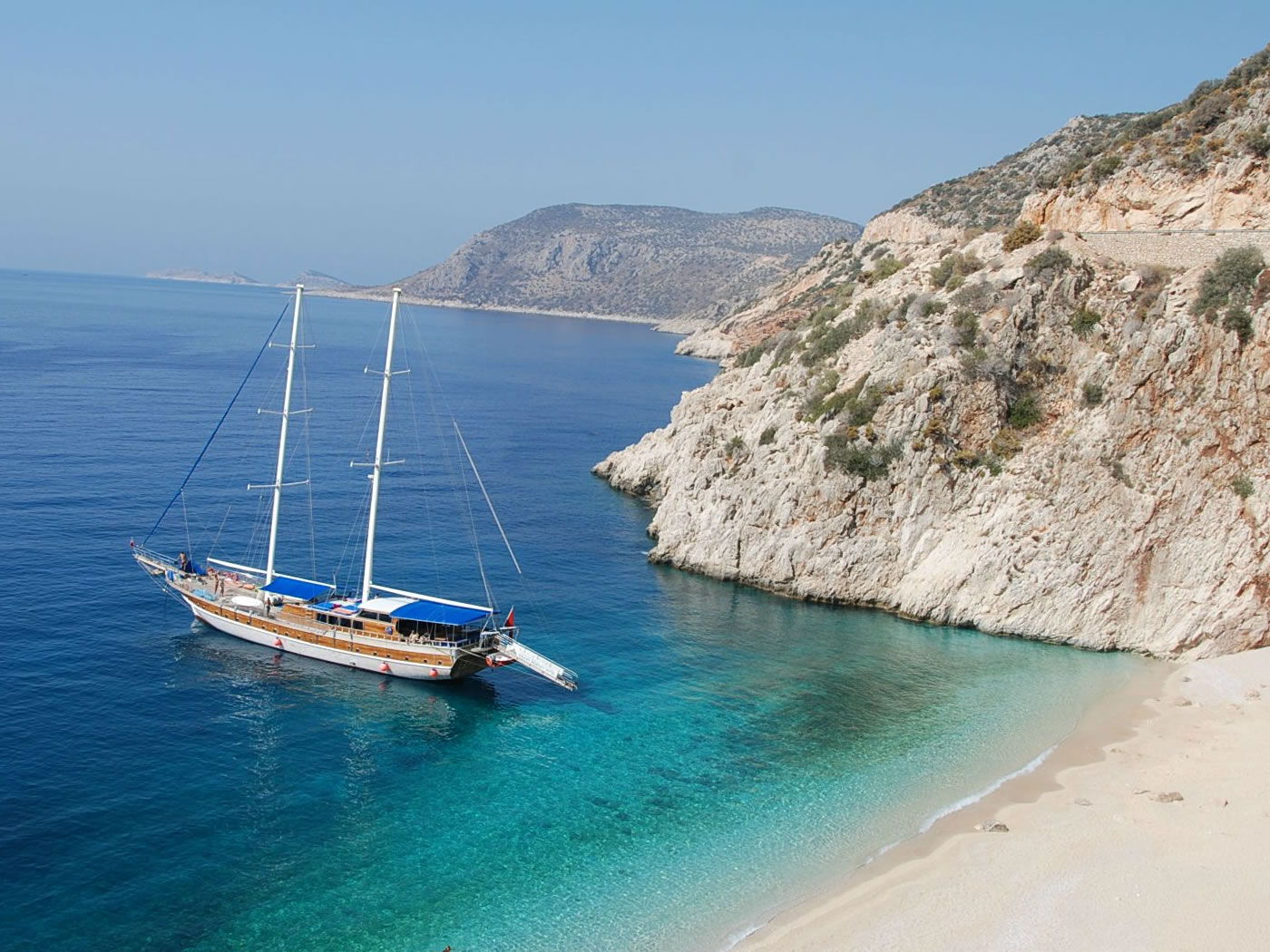 4 Day Olympos to Fethiye Blue Cruise Cabin Charter 2