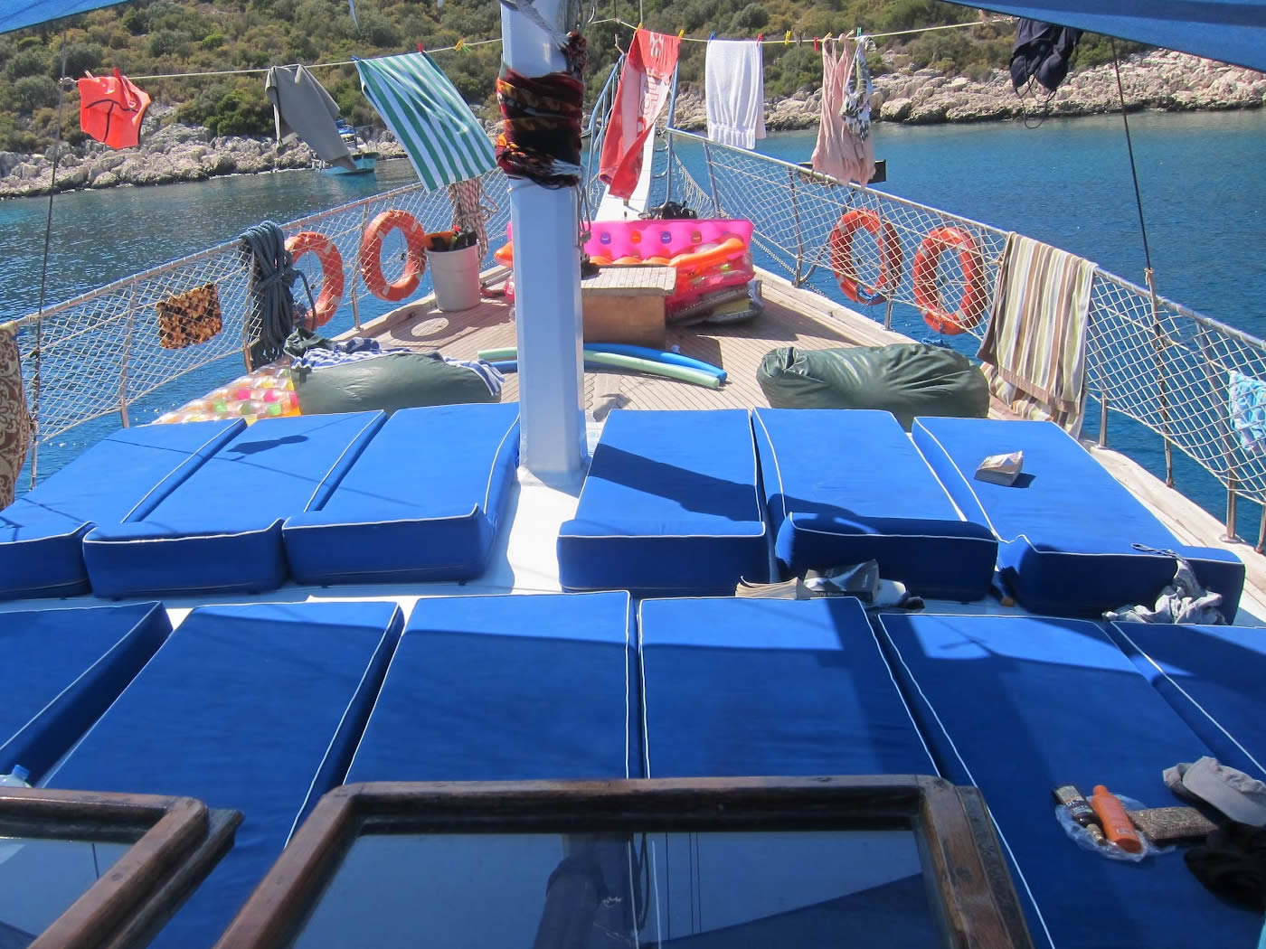 4 Day Olympos to Fethiye Blue Cruise Cabin Charter 3