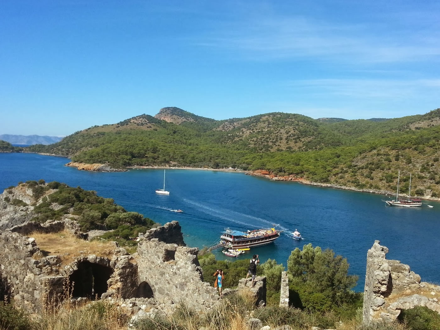 4 Day Olympos to Fethiye Blue Cruise Cabin Charter 6