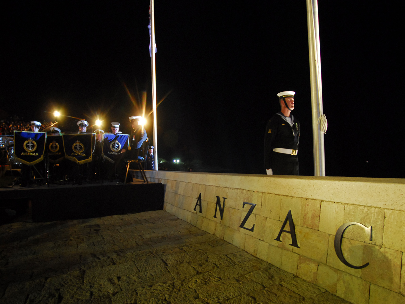 Anzac Day Dawn Service From Canakkale From 24 April