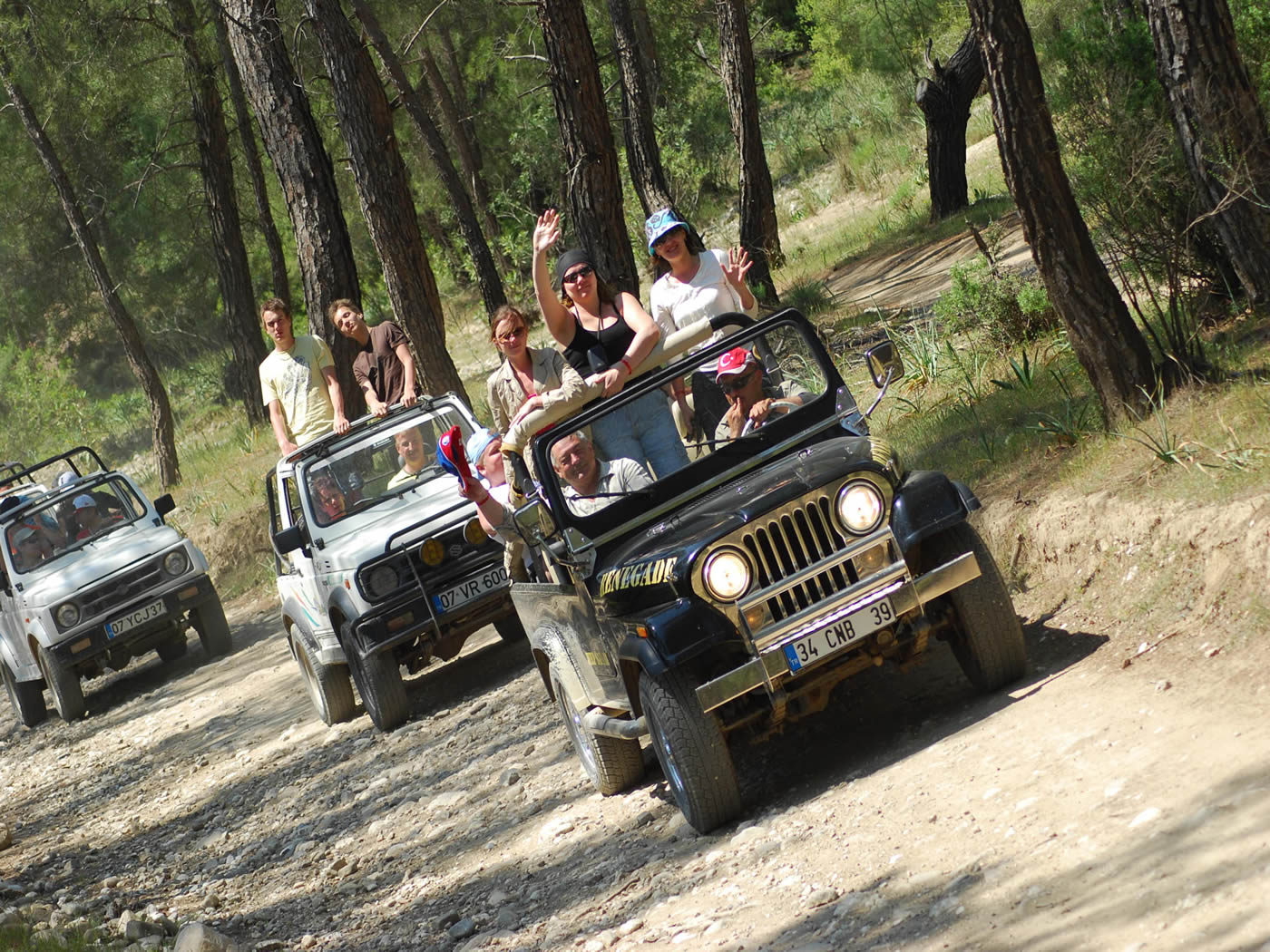 Bursa Jeep Safari Tour