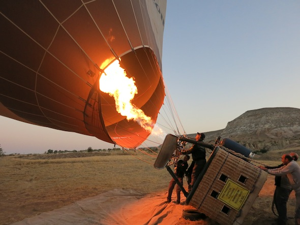 Cappadocia Hot Air Balloon Tour 4