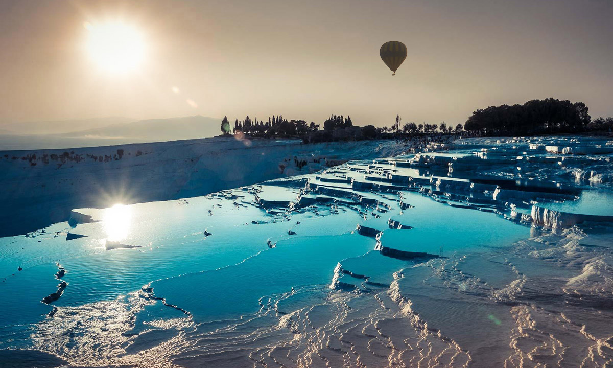 Pamukkale Hot Air Balloon Tour