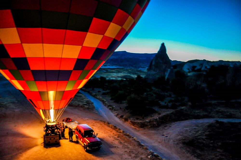 Turkey Cappadocia Hot Air Balloon Tour