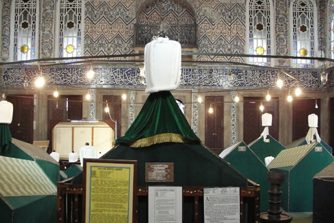 Tour For Tombs of Sahabas in Istanbul