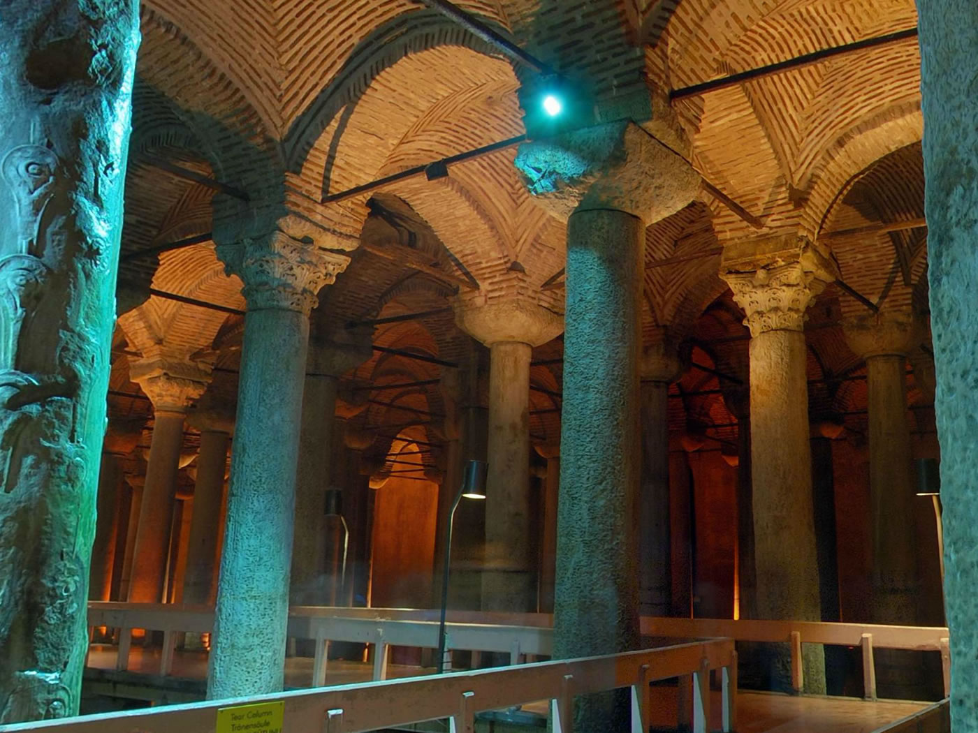 Underground Cistern Daily Tour In Istanbul